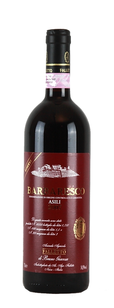 Barbaresco Asili Red Label Bruno Giacosa Riserva 2011