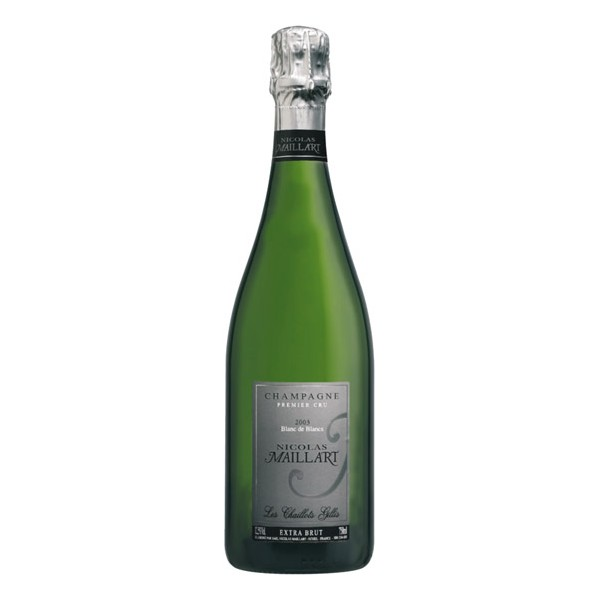 Champagne Extra Brut Les Chaillots Gillis Nicolas Maillart 2004