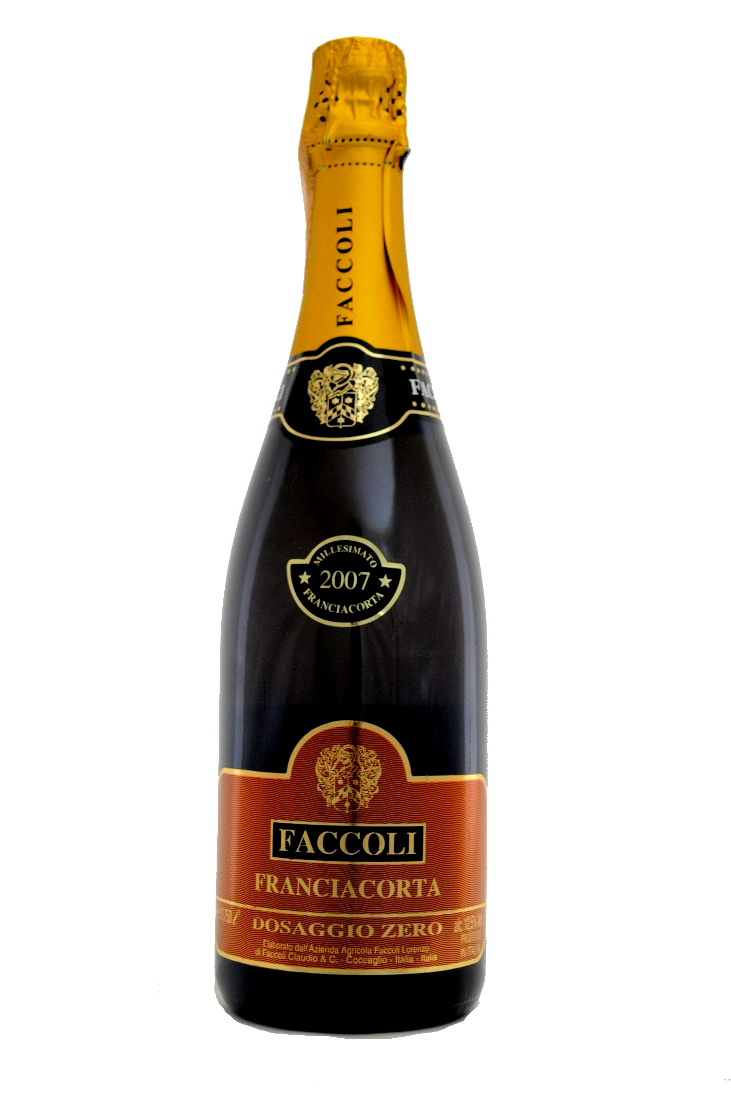Franciacorta Dosage Zero Faccoli 2011