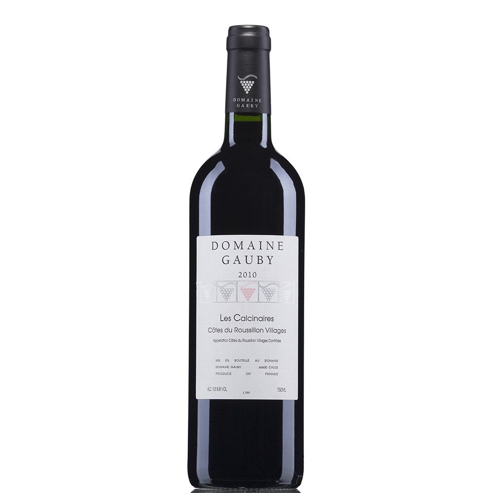 Calcinaires Cotes du Roussillon Villages Gauby 2015
