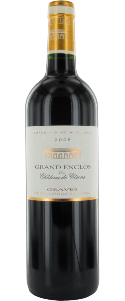 Grand Enclos du Chateau de Cérons Graves Rouge 2010