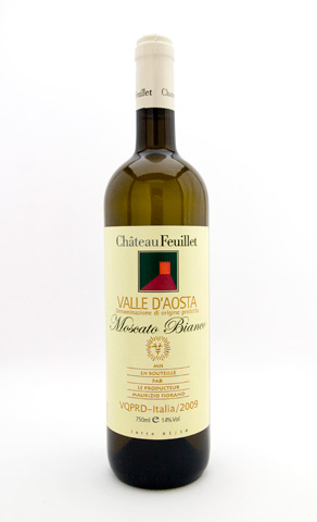 Moscato Bianco Valle d'Aosta Chateau Feuillet 2015