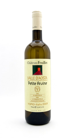Petite Arvine Valle dAosta Chateau Feuillet 2015