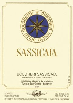 Sassicaia 2012 + Lodai Fertuna 2009+ Droppello Fertuna 2014