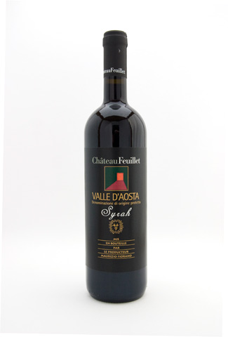 Syrah Valle dAosta Chateau Feuillet 2015
