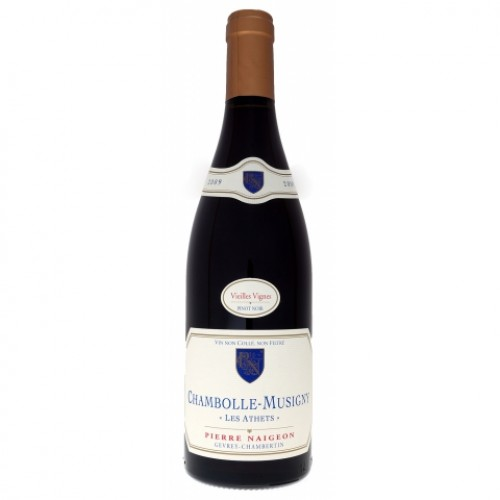 Chambolle Musigny Les Athets Vieilles Vignes Pierre Naigeon 2012