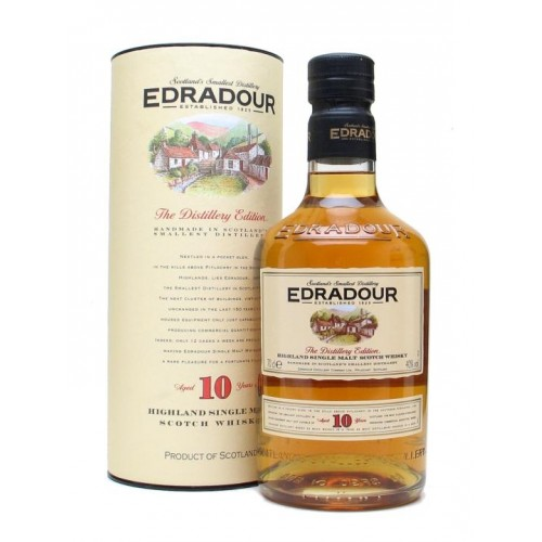Edradour 10 YO Highland Single Malt Scotch Whisky
