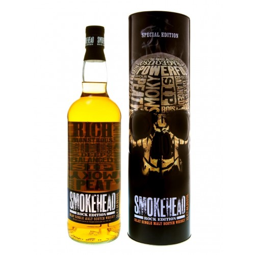 Whisky Islay Single Malt Smokehead The Rock Edition